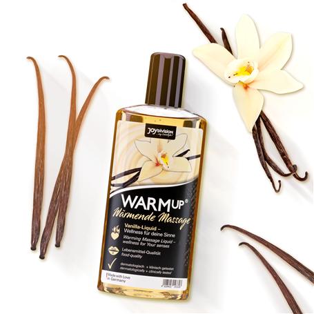 Tělový olej WARMup Vanilla 150 ml