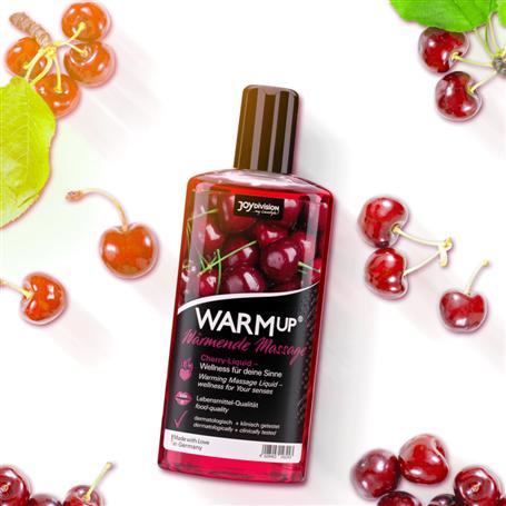 Tělový olej WARMup Třešně 150 ml