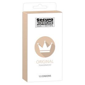 Kondomy Secura ORIGINAL TRANSPARENT 12 ks