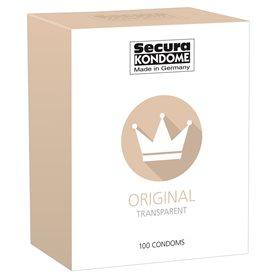 Kondomy Secura ORIGINAL TRANSPARENT 100 ks