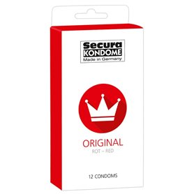 Kondomy Secura ORIGINAL RED 12 ks