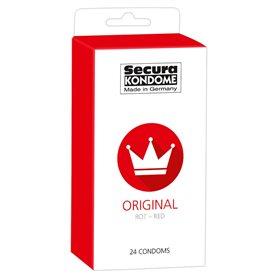 Kondomy Secura ORIGINAL RED 24 ks