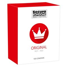 Kondomy Secura ORIGINAL RED 100 ks
