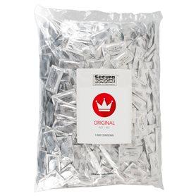 Kondomy Secura ORIGINAL RED 1000 ks