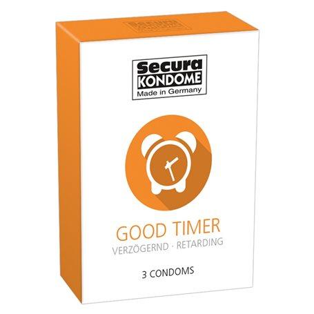 Kondomy Secura GOOD TIMER 3 ks