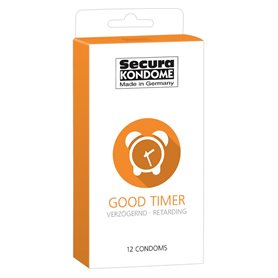 Kondomy Secura GOOD TIMER 12 ks
