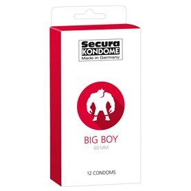 Kondomy Secura BIG BOY 12 ks