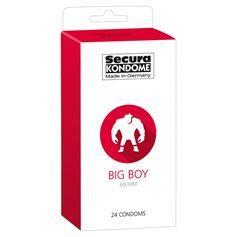 Kondomy Secura BIG BOY 24 ks