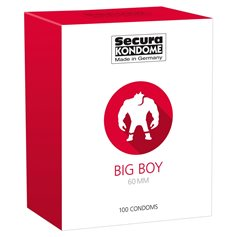 Kondomy Secura BIG BOY 100 ks