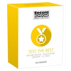 Kondomy Secura TEST THE BEST 100 ks