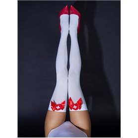 Punčochy Le Frivole Nurse's Stockings S/M