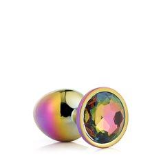 Anální šperk Dream Toys GLEAMING LOVE MULTICOLOUR PLUG large