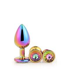 Sada Dream Toys GLEAMING LOVE MULTICOLOUR PLUG SET