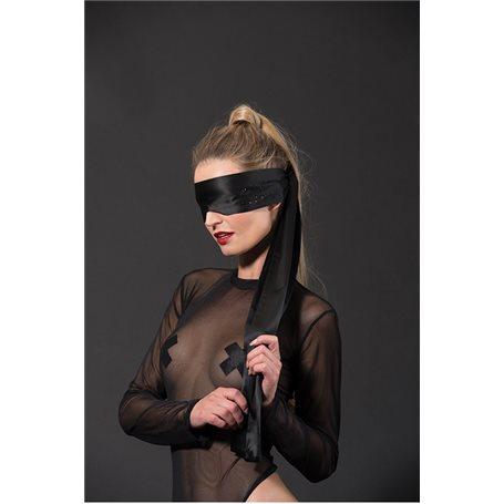 Šátek GP PREMIUM SATIN BLINDFOLD black