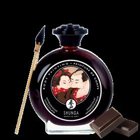 Barva na tělo SHUNGA BODY PAINTING Chocolate 100 ml