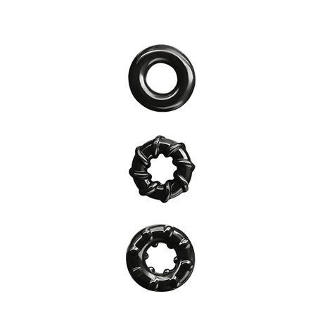 Erekční kroužky NS Novelties RENEGADE Dyno Rings black