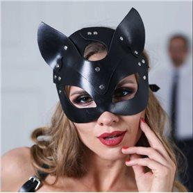 Maska EXTREME Sexy Cat černá