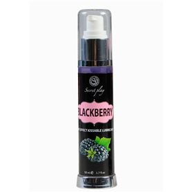 Lubrikační gel Secret Play HOT EFFECT blackberry 50 ml