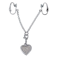 Intimní šperk Intimate Heart-shaped Chain