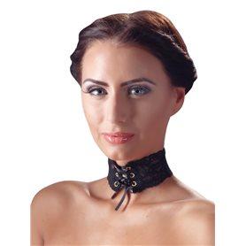 Obojek krajkový Cottelli Collection CHOKER LACE black