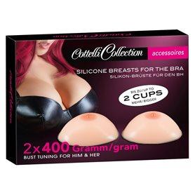 Prsa Cottelli Collection Silicone Breasts 2x400 g