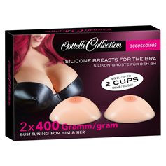 Prsa Cottelli Collection Silicone Breasts 2x400 g