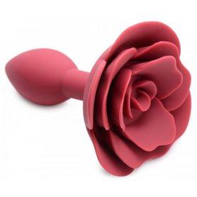 Anální kolík MASTER SERIES Booty Bloom Silicone Anal Plug With Rose