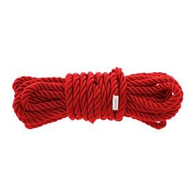 Lano Dream Toys BLAZE DELUXE BONDAGE ROPE red 5 m