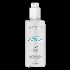 Lubrikační gel WICKED SIMPLY AQUA 70 ml