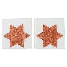 Lepítka na bradavky Nipple Stickers STAR