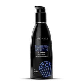 Lubrikační gel WICKED AQUA BLUEBERRY MUFFIN 60 ml