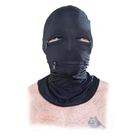 Maska PIPEDREAM FETISH FANTASY Zipper Face Hood